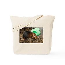 Elephant Shrew with Shamrock Tote Bag