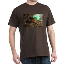 Elephant Shrew with Shamrock Dark T-Shirt