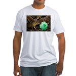 Agouti With Shamrock Fitted T-Shirt