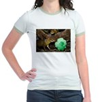 Agouti With Shamrock Jr. Ringer T-Shirt