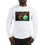 Agouti With Shamrock Long Sleeve T-Shirt