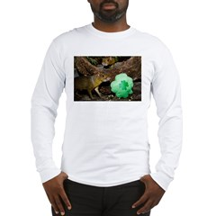 Agouti With Shamrock Long Sleeve T-Shirt