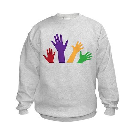 Hands Kids Sweatshirt