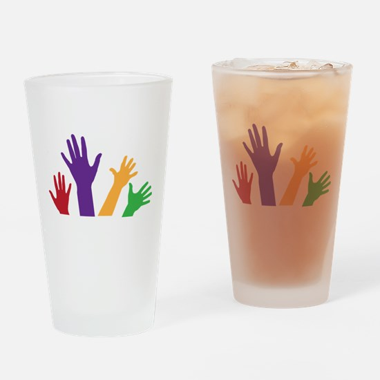 Hands Drinking Glass