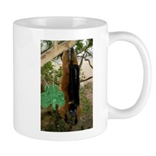 Red Ruffed Lemur with Shamrock Mug
