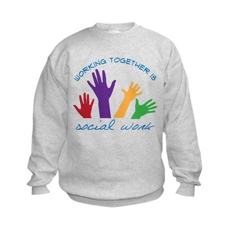 Social Work Kids Sweatshirt