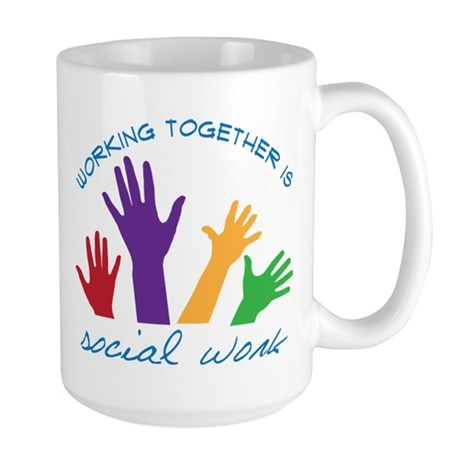 Social Work Large Mug