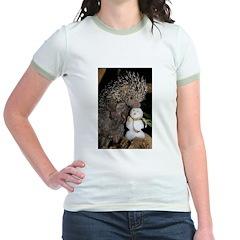 Porcupine With Snowman T