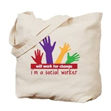 Work For Change Tote Bag