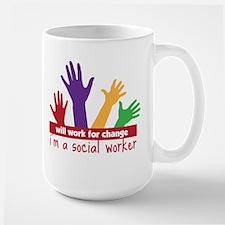 Work For Change Mug