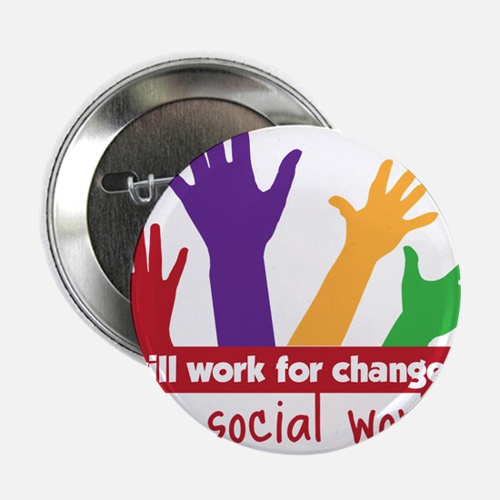 """Work For Change 2.25"""" Button"""