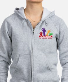 Work For Change Zip Hoodie