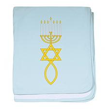 Messianic Seal baby blanket