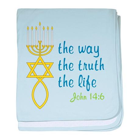 John 14:6 baby blanket