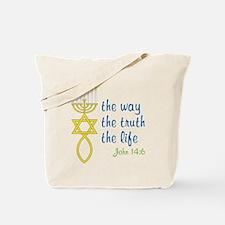 John 14:6 Tote Bag