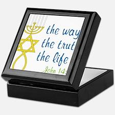 John 14:6 Keepsake Box