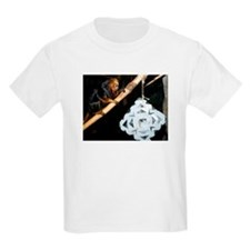 Golden Headed Lion Tamarin With Snowflake T-Shirt