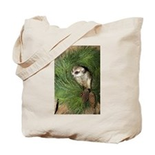 Meerkat In Wreath Tote Bag