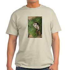 Meerkat In Wreath Light T-Shirt