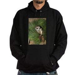 Meerkat In Wreath Hoodie (dark)