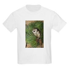 Meerkat In Wreath Kids Light T-Shirt