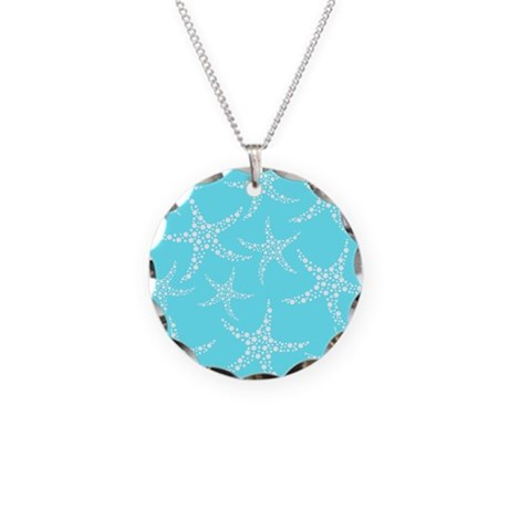 turquoise starfish necklace by metarla
