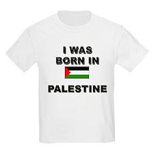 I Was Born In Palestine Kids T-Shirt