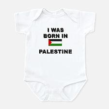 I Was Born In Palestine Infant Bodysuit