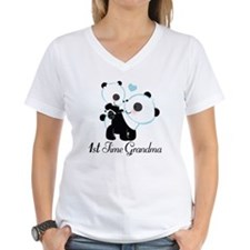 1st Time Grandma panda Shirt