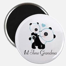 1st Time Grandma panda Magnet