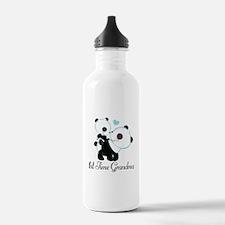 1st Time Grandma panda Water Bottle