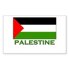 Palestine Flag Stuff Rectangle Decal
