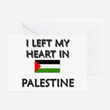 I Left My Heart In Palestine Greeting Cards (Packa