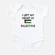 I Left My Heart In Palestine Infant Bodysuit
