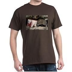 Ocelot in Snowman Bag T-Shirt