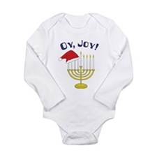 Oy, Joy! Long Sleeve Infant Bodysuit