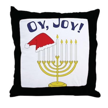 Oy, Joy! Throw Pillow