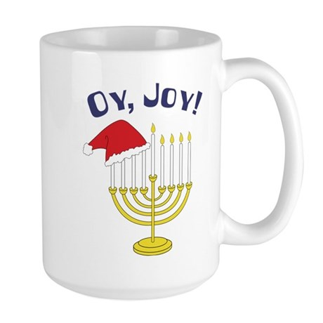 Oy, Joy! Large Mug