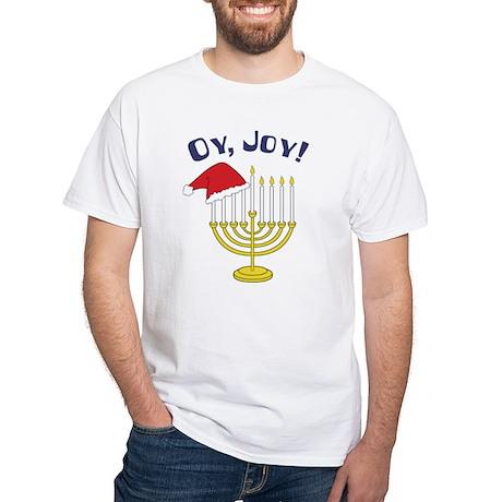Oy, Joy! White T-Shirt