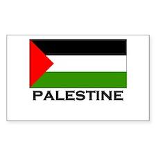 Palestine Flag Merchandise Rectangle Decal