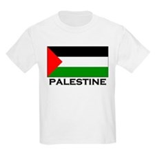 Palestine Flag Merchandise Kids T-Shirt