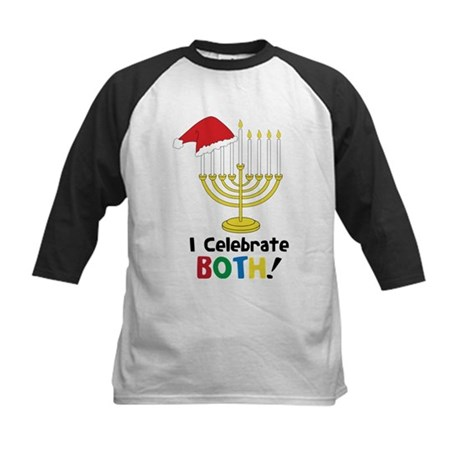 I Celebrate Both Kids Baseball Jersey