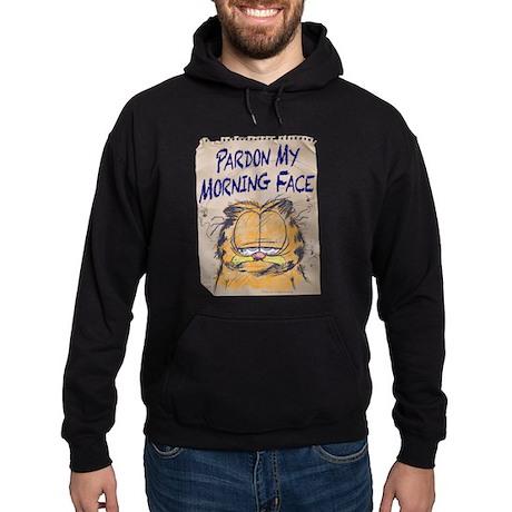 PARDON MY MORNING FACE Hoodie (dark)