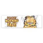 PARDON MY MORNING FACE Sticker (Bumper 10 pk)