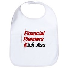 Financial Planners Kick Ass Bib