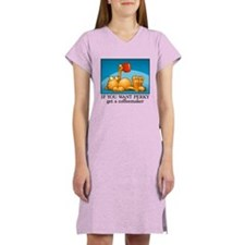 IF YOU WANT PERKY... Women's Nightshirt