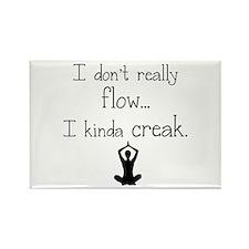 Flow or creak? Rectangle Magnet