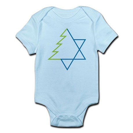 Tree And Star Infant Bodysuit