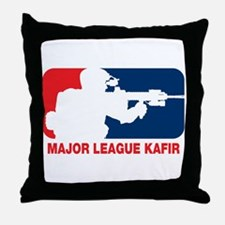 Major League Kafir Throw Pillow