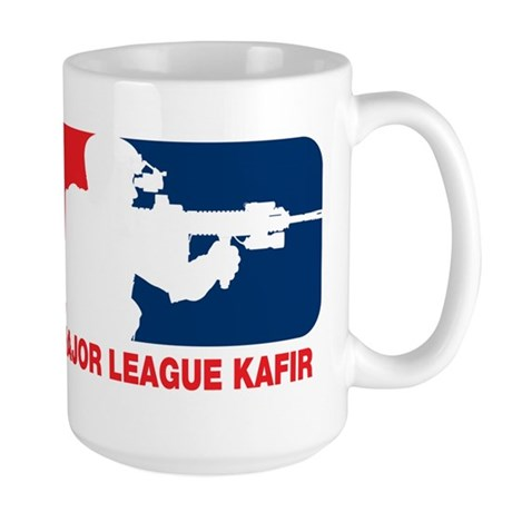Major League Kafir Large Mug